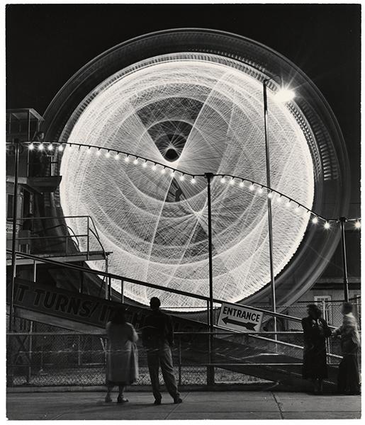 Andreas Feininger, The Gyro Globe Coney Island, New York, 1949